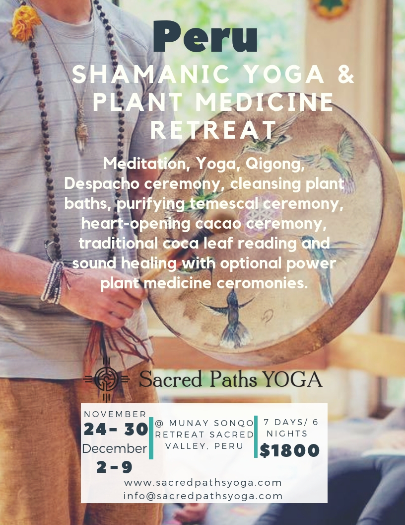 Upcoming Retreats « Munay Sonqo Retreat and Yoga Center